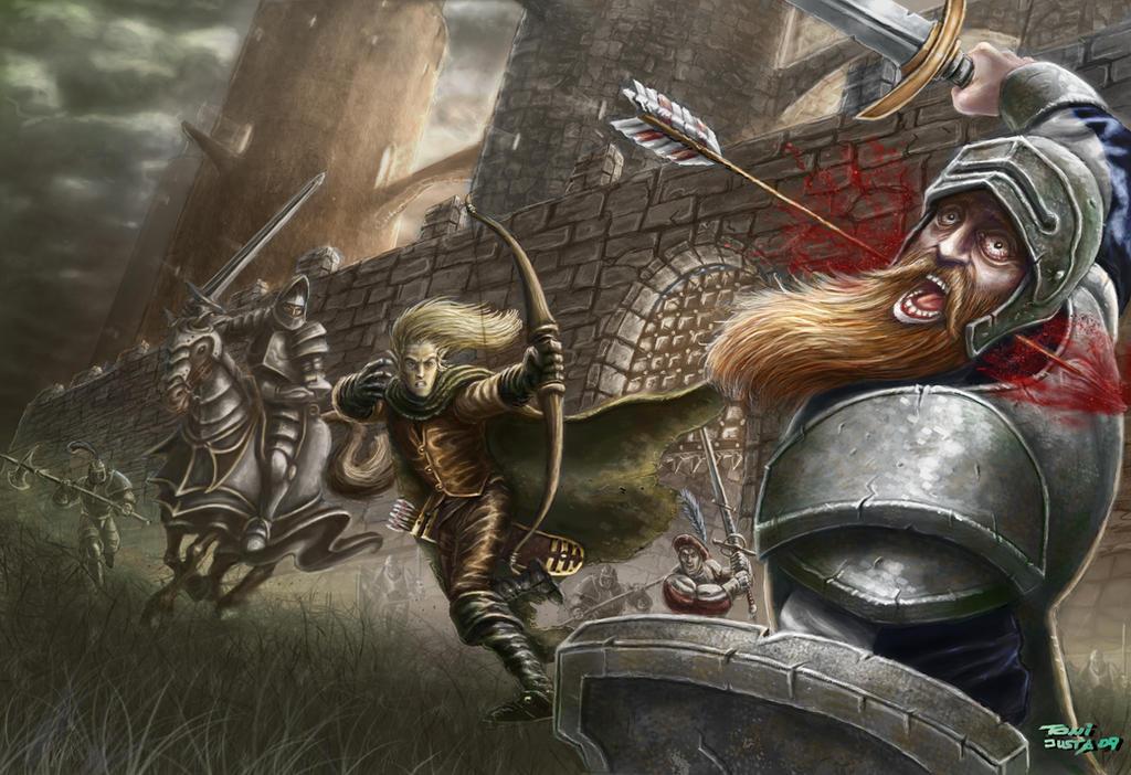 Warhammer: The sunset escape by ARTOFJUSTAMAN