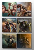 Fantasy Characters images set by ARTOFJUSTAMAN