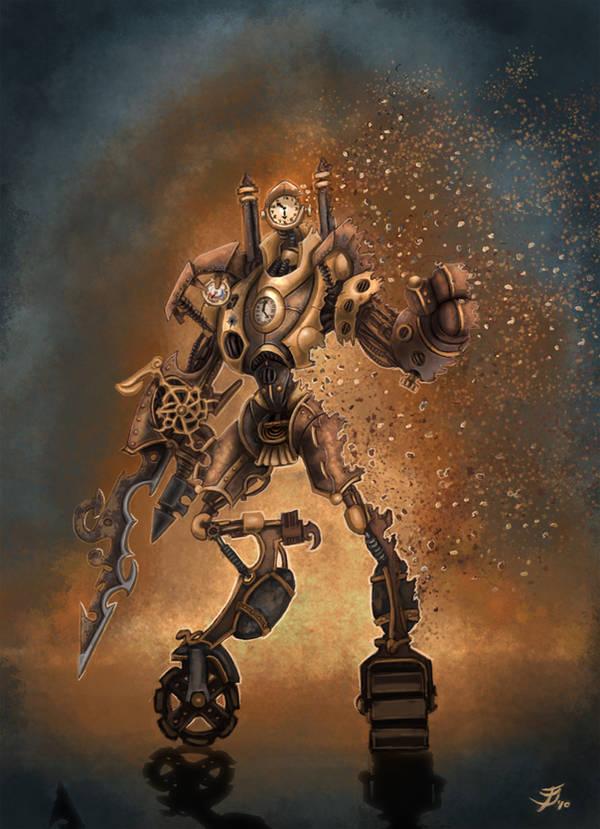 Steampunk concept by ARTOFJUSTAMAN