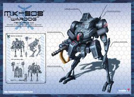 MK-508 Wardog concept by ARTOFJUSTAMAN
