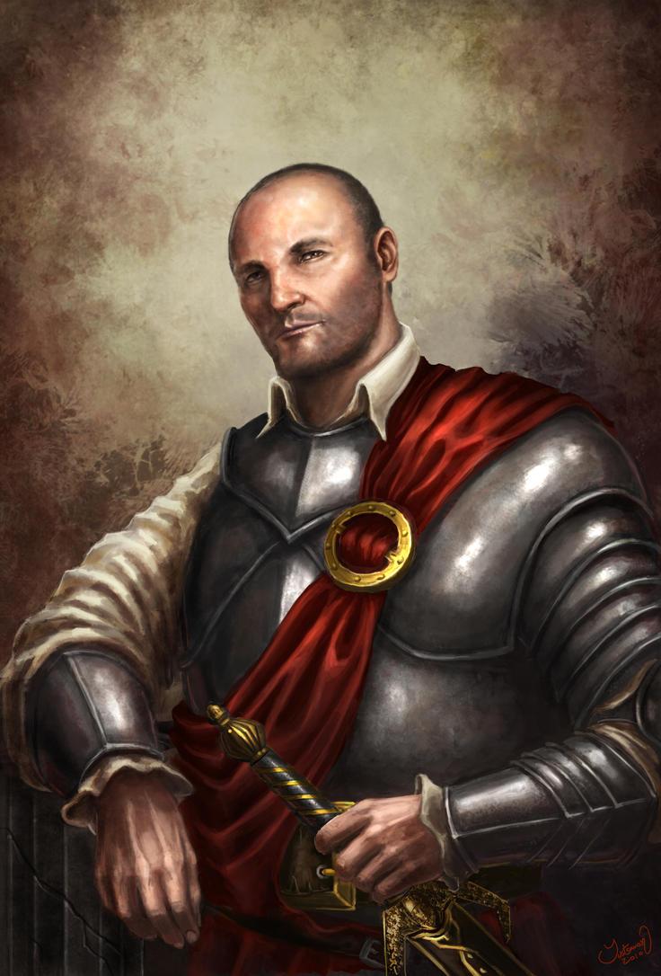 The Distinguished Mercenary by ARTOFJUSTAMAN