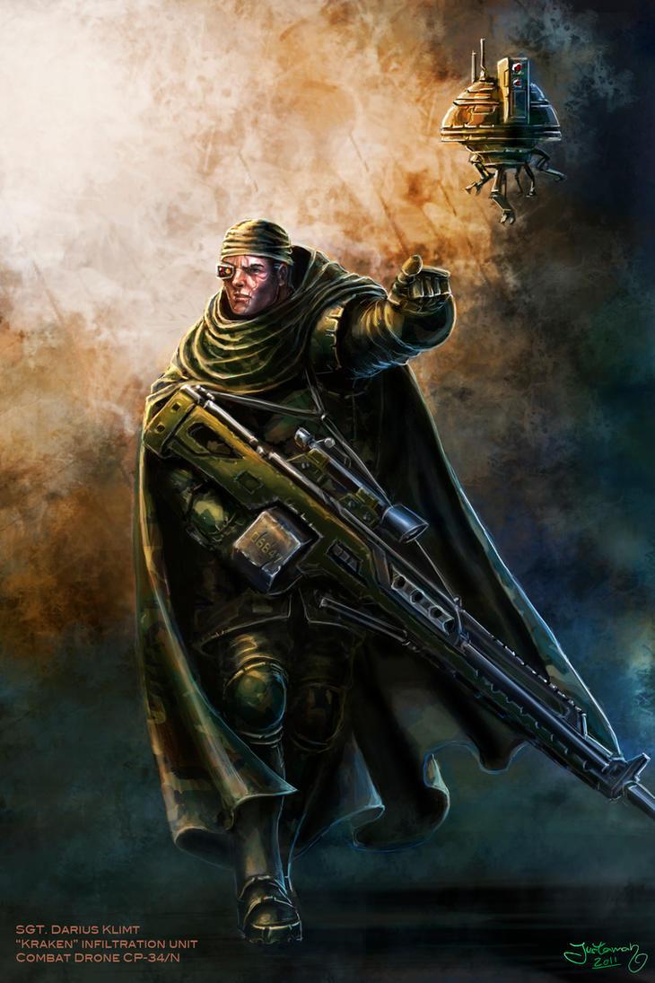 The Sniper by ARTOFJUSTAMAN