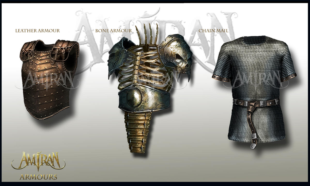 Amiran armours set. by ARTOFJUSTAMAN