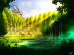 Fairy tale Landscape concept