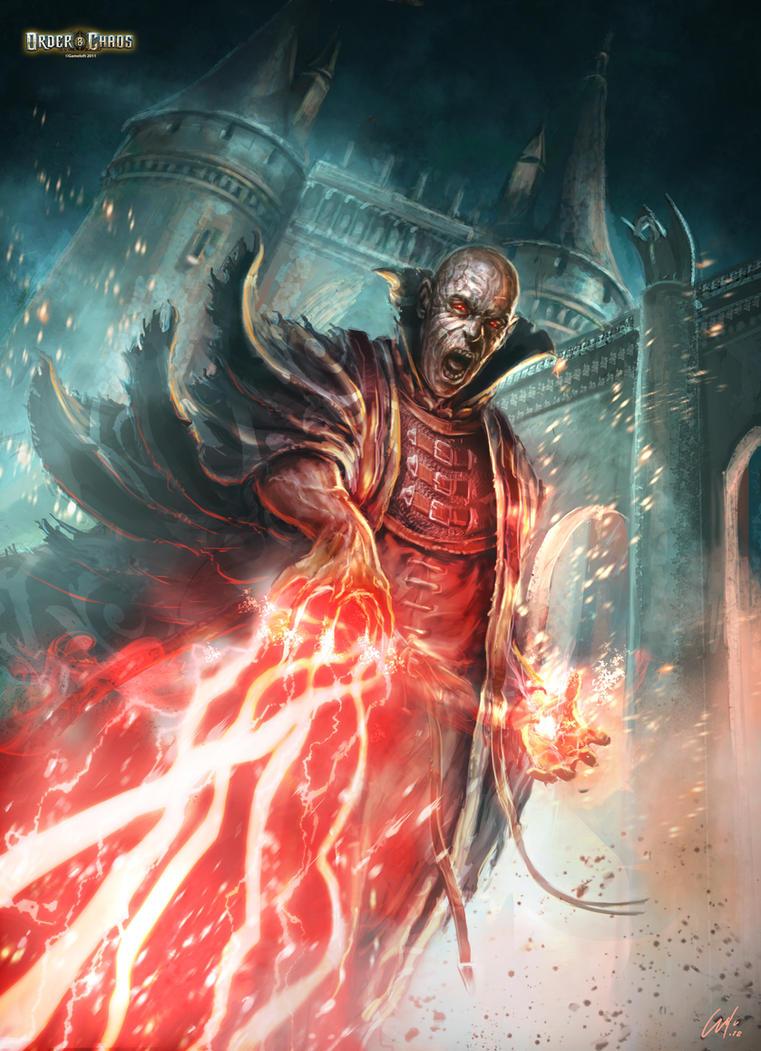 Scarlet Tempest by ARTOFJUSTAMAN