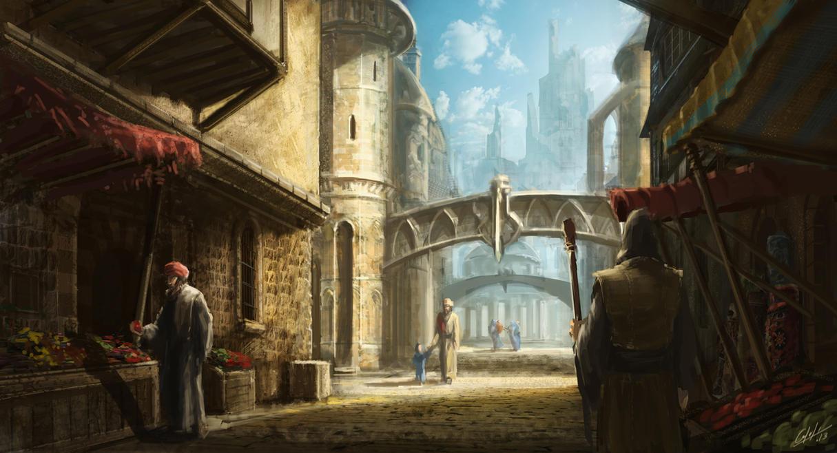 The quite street by ARTOFJUSTAMAN
