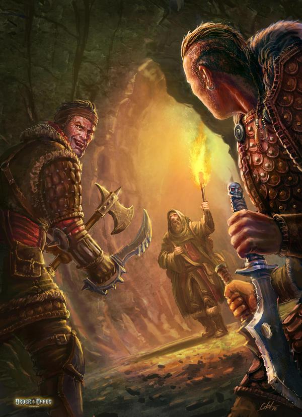 Cave Slaughterers by ARTOFJUSTAMAN