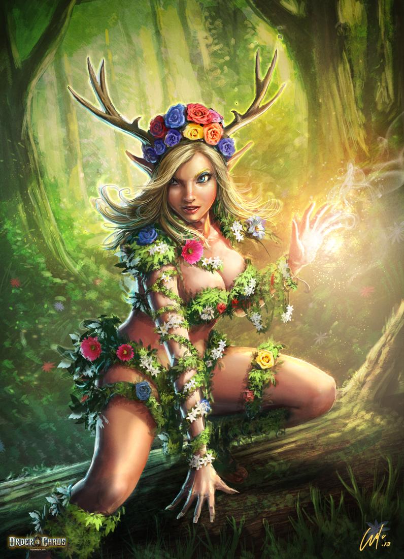 Elf Druidess Reload by ARTOFJUSTAMAN