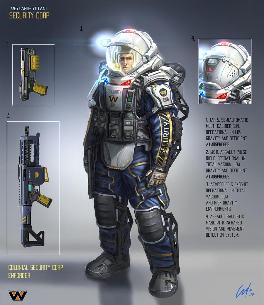 WY Security Corp Enforcer by ARTOFJUSTAMAN