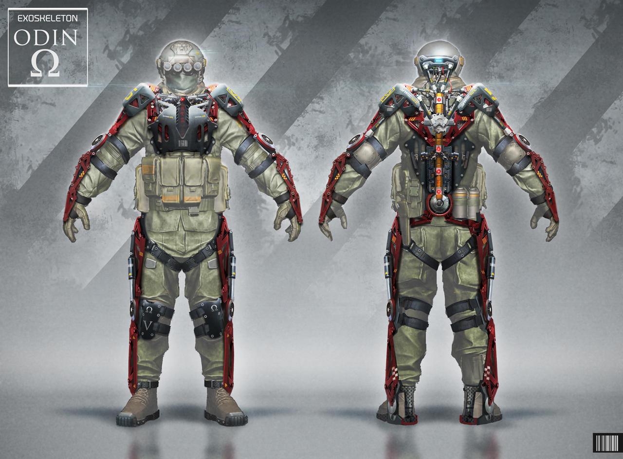 ODIN Exo Suit Concept by ARTOFJUSTAMAN