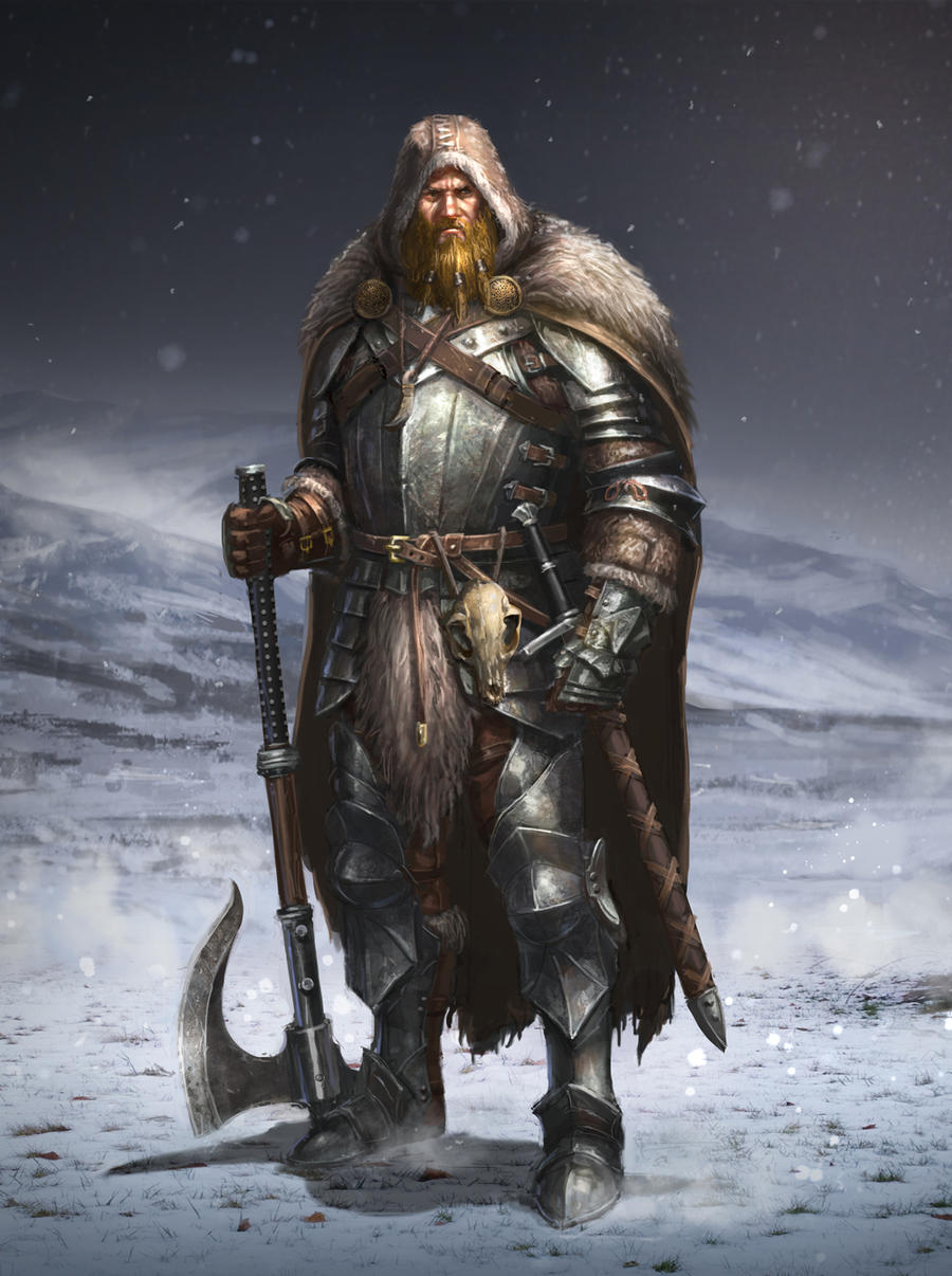 Man of the North by ARTOFJUSTAMAN