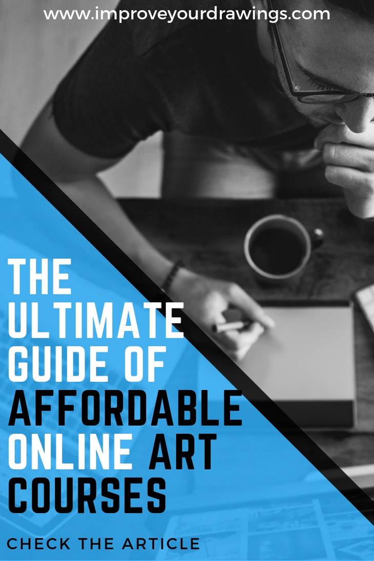 THE BEST AND MOST AFFORDABLE ONLINE ART COURSES by ARTOFJUSTAMAN