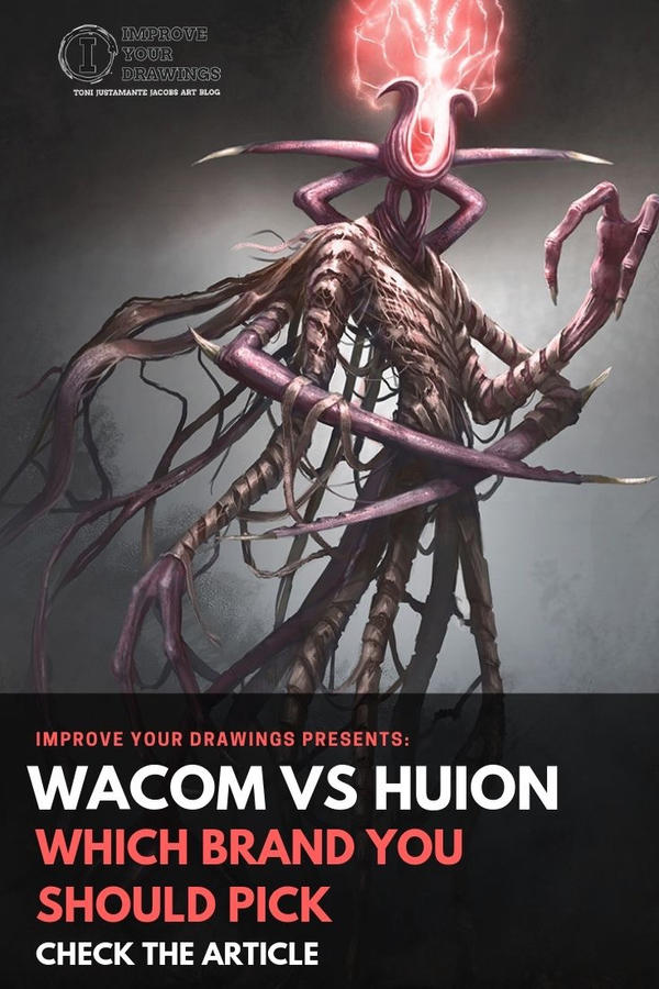 Wacom Vs Huion by ARTOFJUSTAMAN on DeviantArt
