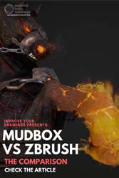 MUDBOX VS ZBRUSH: The Comparison by ARTOFJUSTAMAN