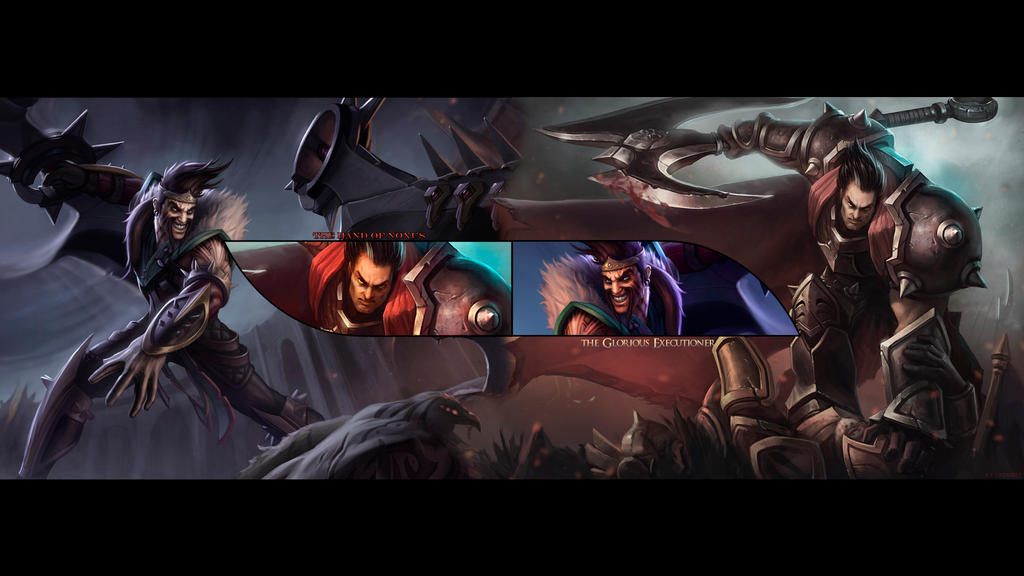 League Of Legends The Blood Brothers By IceCrumble