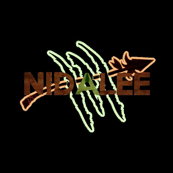 League of Legends: Nidalee - T-shirt design (D)