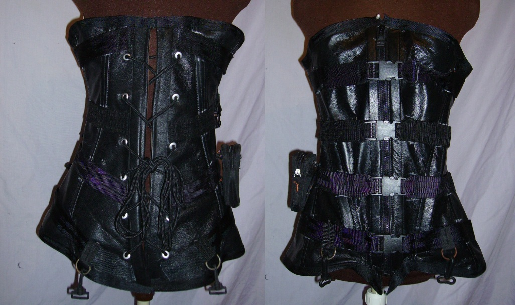 Tactical Corset by hostile-makeover