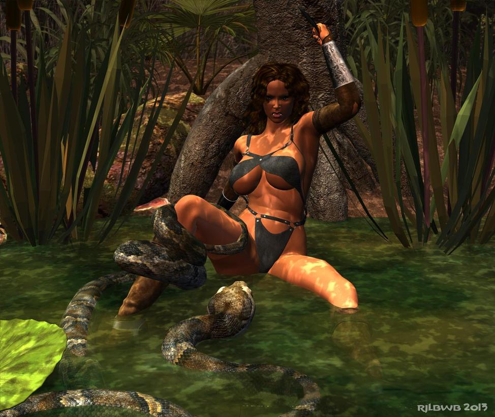 Swamp Snake by RJLbwb