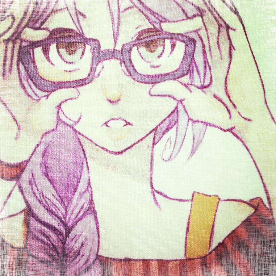 Kori with glasses by taytaykudo