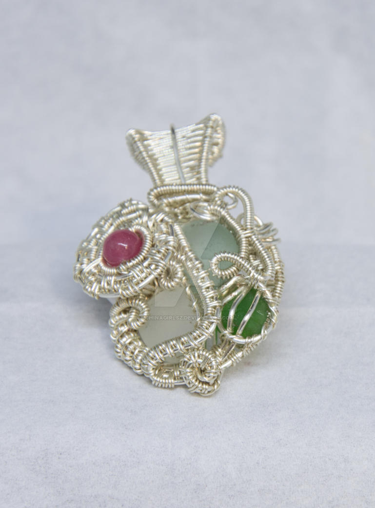 Multistone pendant by Chinagirlsz