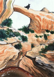 WaSk - Natural Bridges by wolfgryph