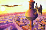 BerlinCityScapes - Fernsehturm am Alexanderplatz