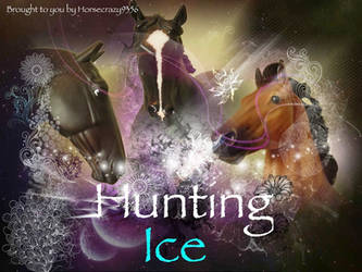 NEW BREYER HORSES SERIES~HUNTING ICE!!!! by horsecrazy9356