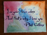 Watercolor and calligraphy1