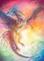 Azure Wings by CazziArt