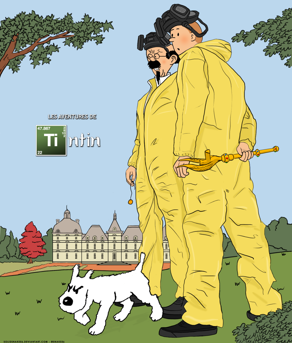 Breaking Bad - The Adventures of Tintin by SolidSnake56