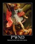 Devil got p'wnd