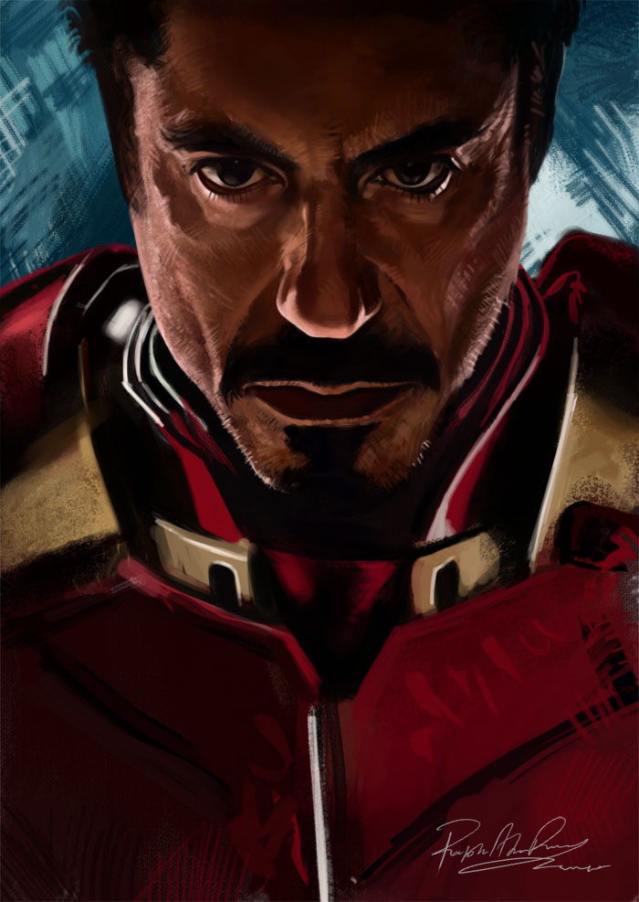 Iron Man 2 by Brashen