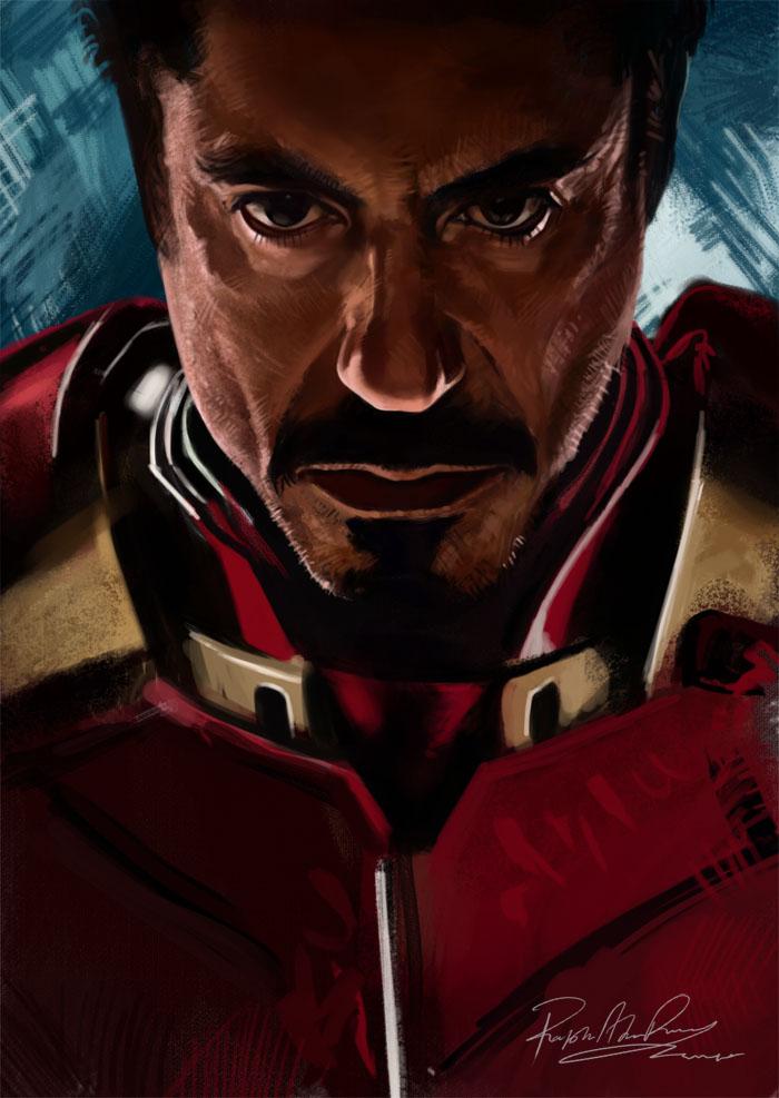 Iron Man 2 by Brashen