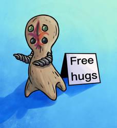 Free hugs by randomravenart