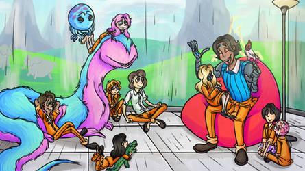 Story form father Cain by randomravenart