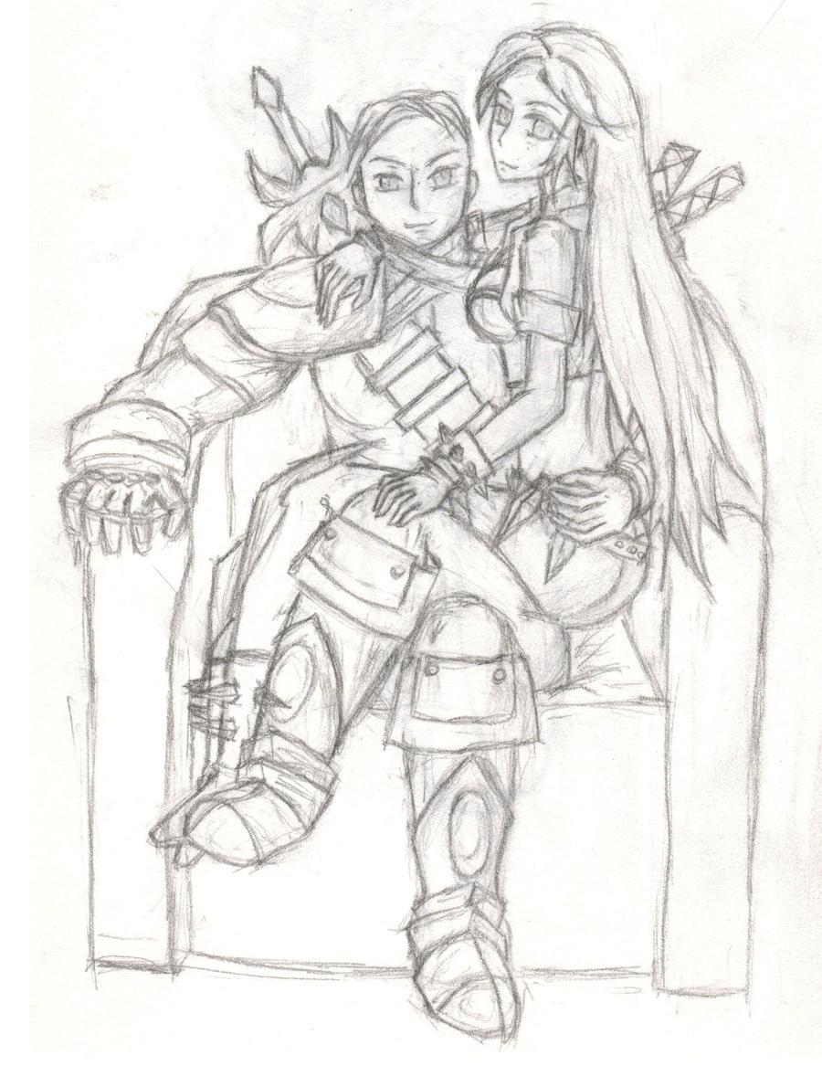 Katarina And Garen Gar...