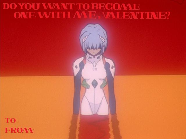 Neon Genesis Evangelion Armisael Valentine's Card by PeyasuEnraged