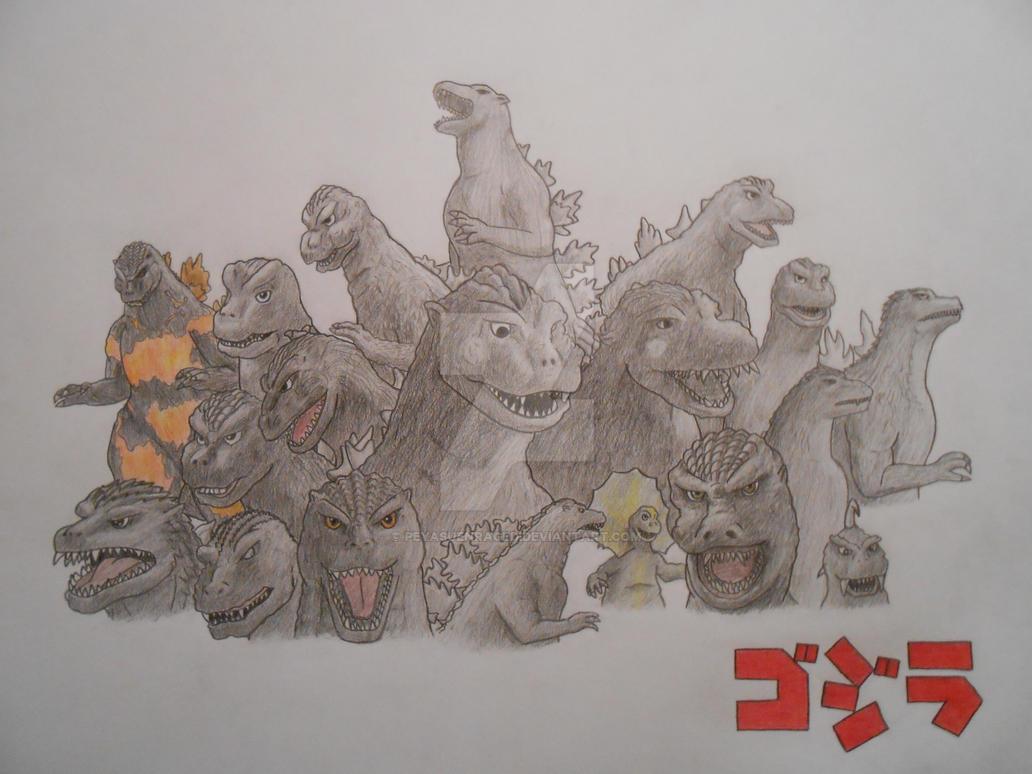 Godzilla Generations by PeyasuEnraged