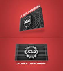 SA4 Logo Designs