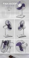 Desk Fan | 3D Model
