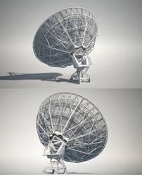 Radio Telescope | back
