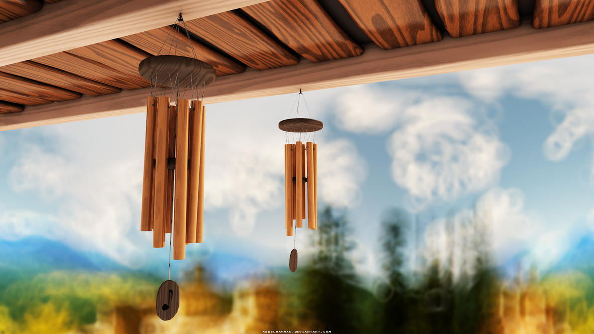 Wind Chimes by abdelrahman on DeviantArt