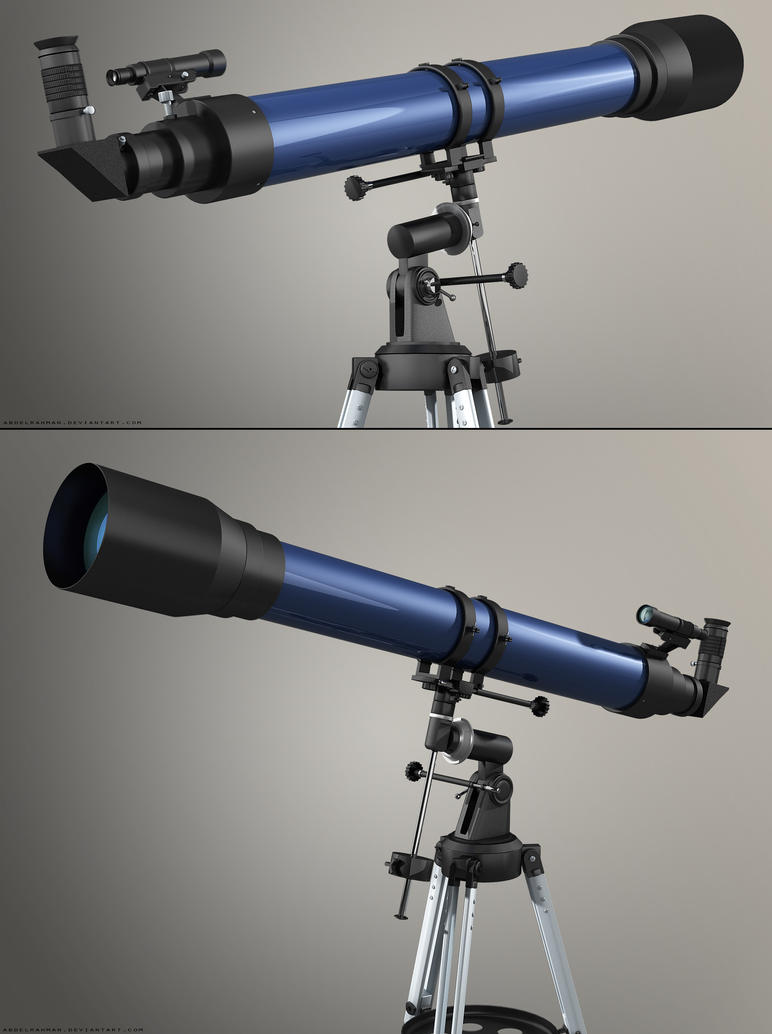Refracting Telescope | Sides by abdelrahman