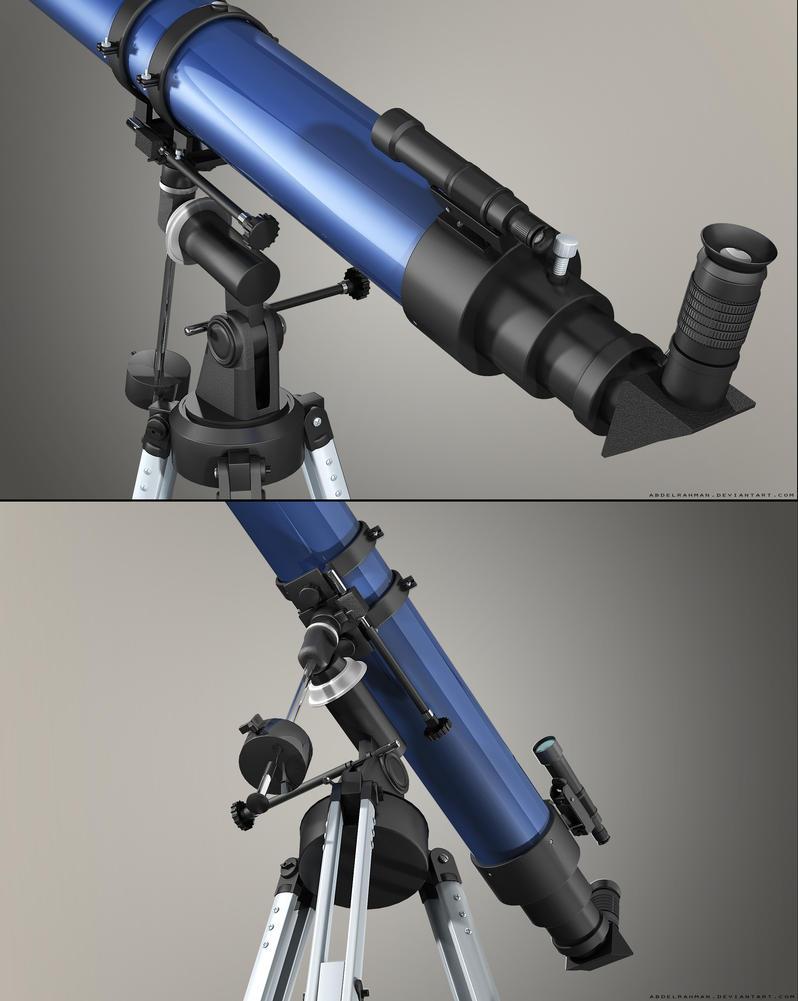Refracting Telescope   Details by abdelrahman