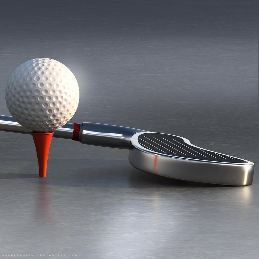 Golfing Club / Ball by abdelrahman