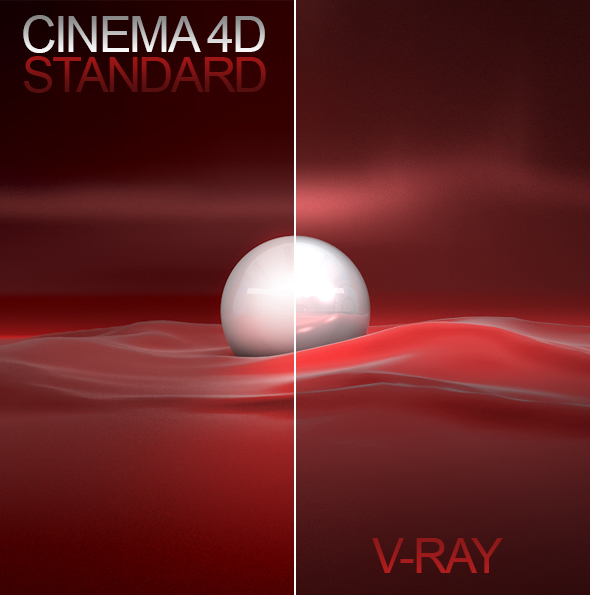 C4D Vray Studio + 3 Materials - 3