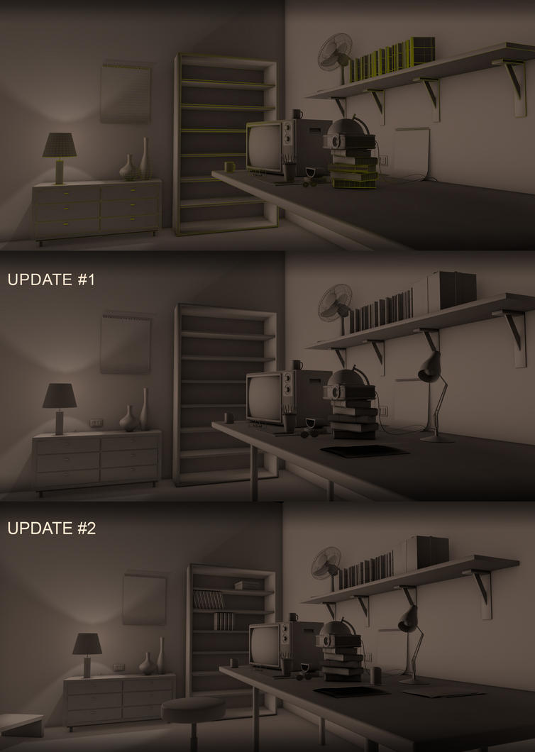 Room with a Projector by abdelrahman