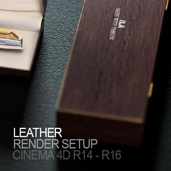 Jet Studio Render Setup for Cinema 4D - 1