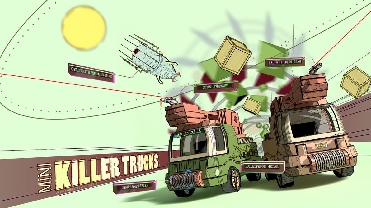 Mini Killer Trucks by abdelrahman