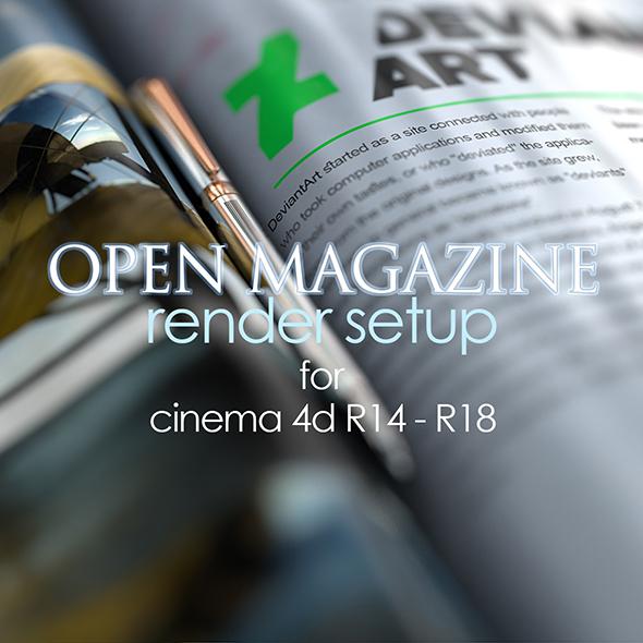 Animated Magazine Template - 1